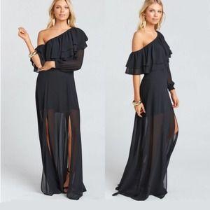 Show Me Your Mumu Emma Ruffle Maxi Dress B…